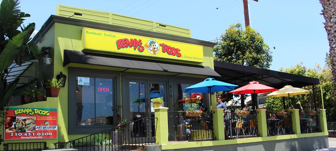 Benny's Tacos Santa Monica location